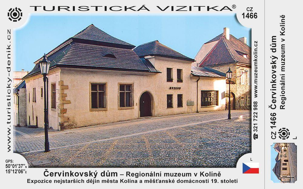 Červinkovský dům – Regionální muzeum v Kolíně