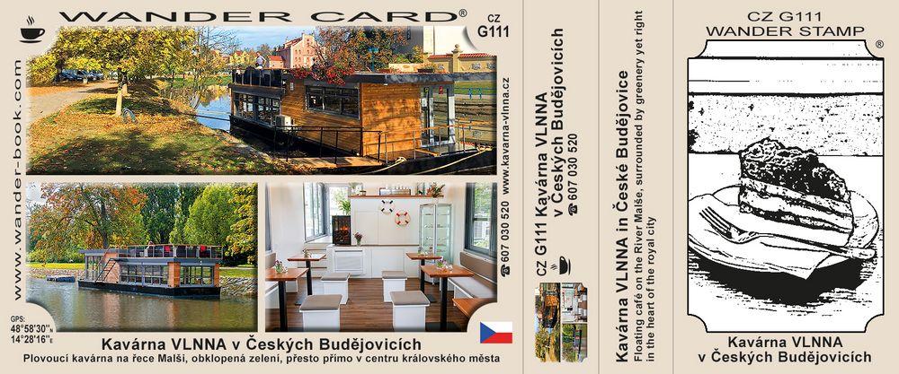 České Budějovice kavárna Vlnna