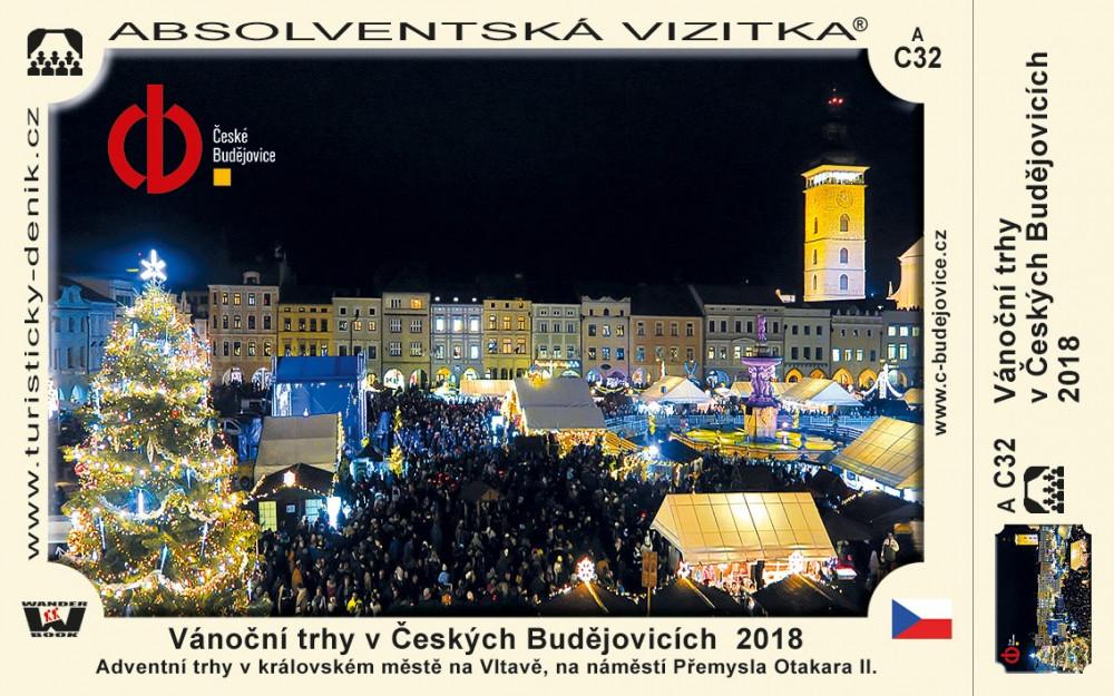 Vánoční trhy v Českých Budějovicích  2018