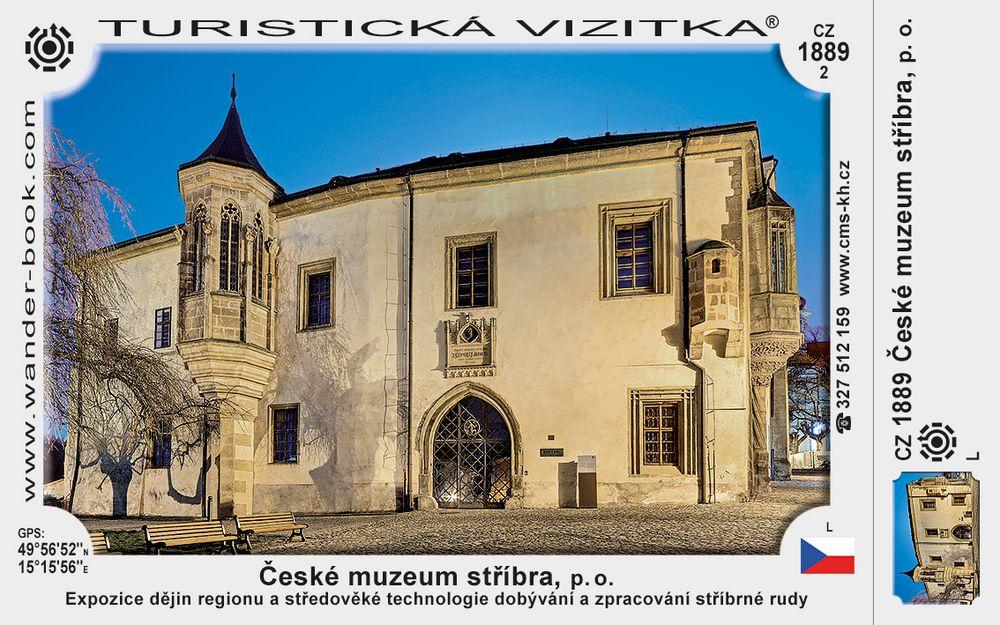 České muzeum stříbra, p. o.