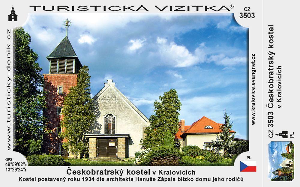 Českobratrský kostel v Kralovicích