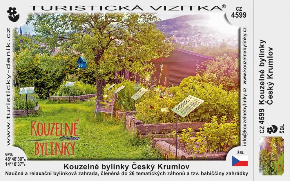 Český Krumlov bylinková zahrada