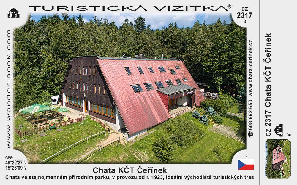 Chata KČT Čeřínek