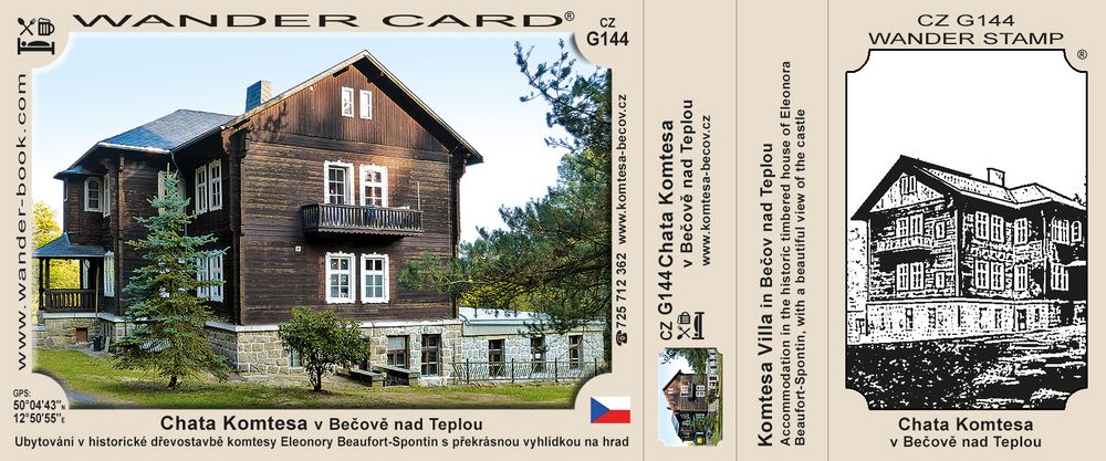 Chata Komtesa v Bečově nad Teplou