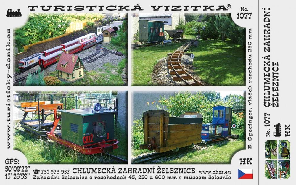 Chlumecká zahradní železnice