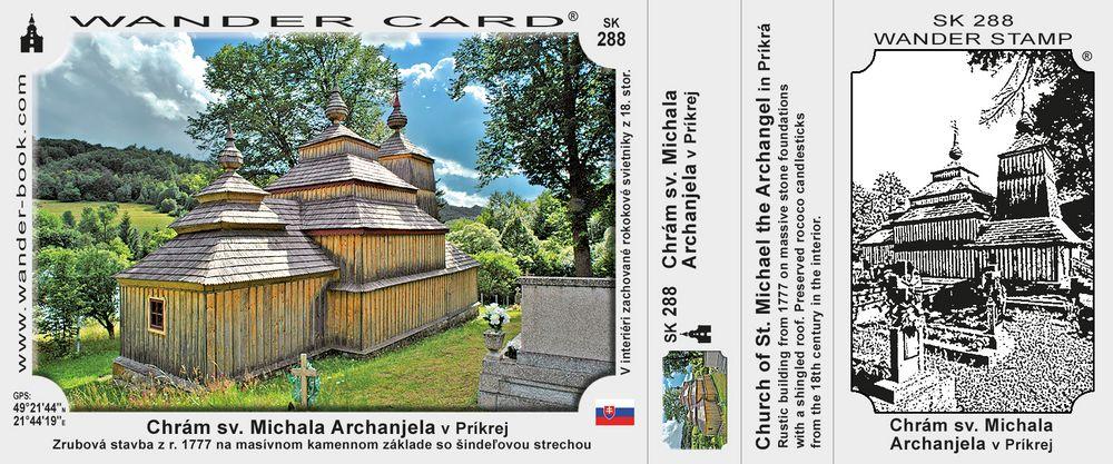 Chrám sv. Michala Archanjela v Príkrej