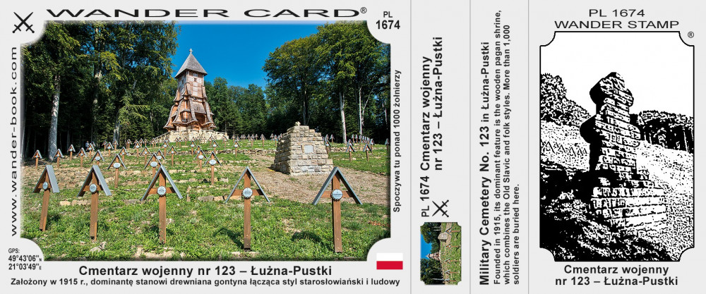 Cmentarz wojenny nr 123 – Łużna-Pustki