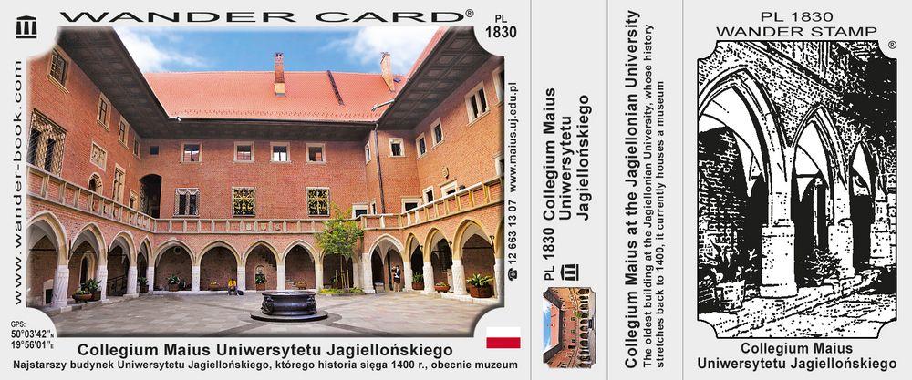 Collegium Maius Uniwersytetu Jagiellońskiego w Krakowie