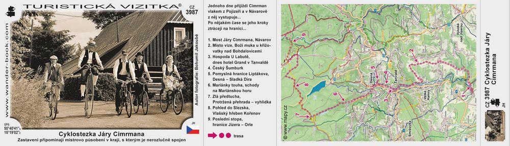 Cyklostezka Járy Cimrmana