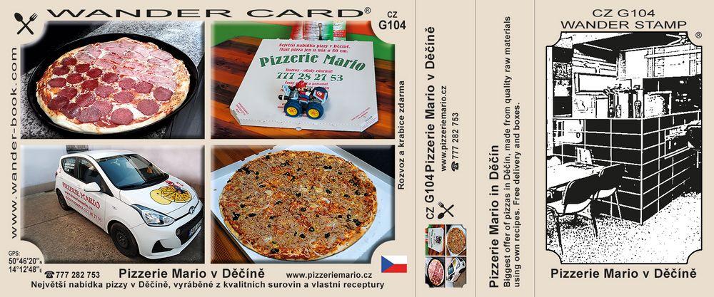 Děčín Pizzerie Mario