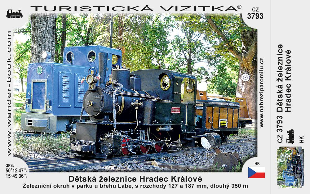 Dětská železnice Hradec Králové
