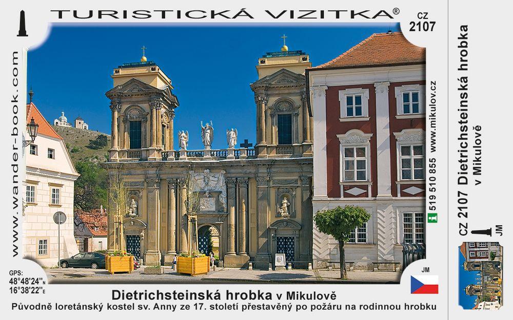 Dietrichsteinská hrobka v Mikulově