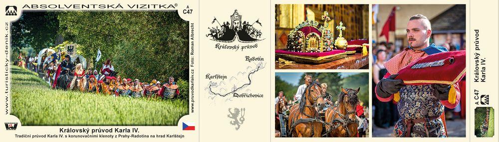Královský průvod Karla IV.