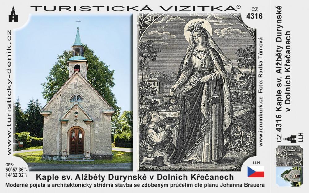 Kaple sv. Alžběty Durynské v Dolních Křečanech