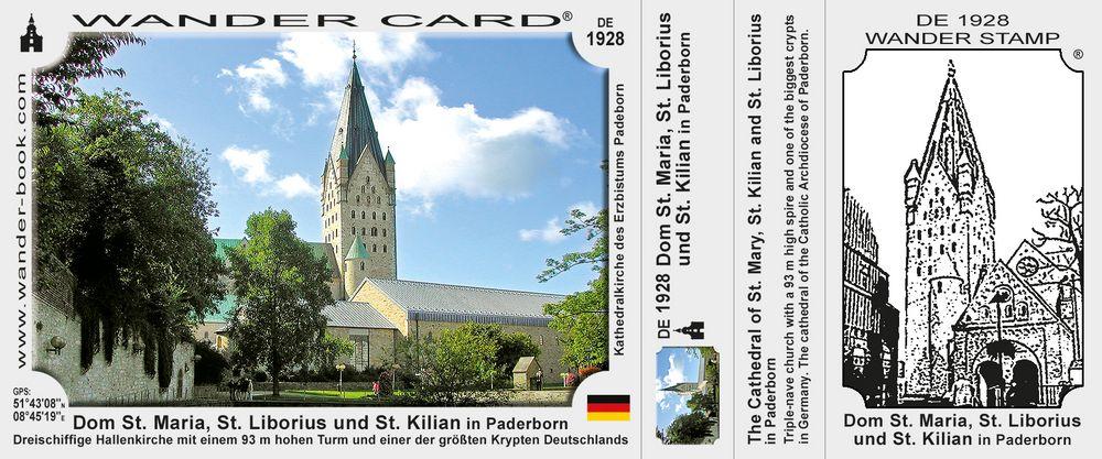 Dom St. Maria, St. Liborius und St. Kilian in Paderborn