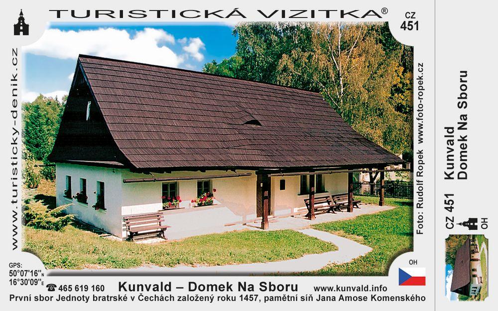 Domek Na Sboru v Kunvaldu