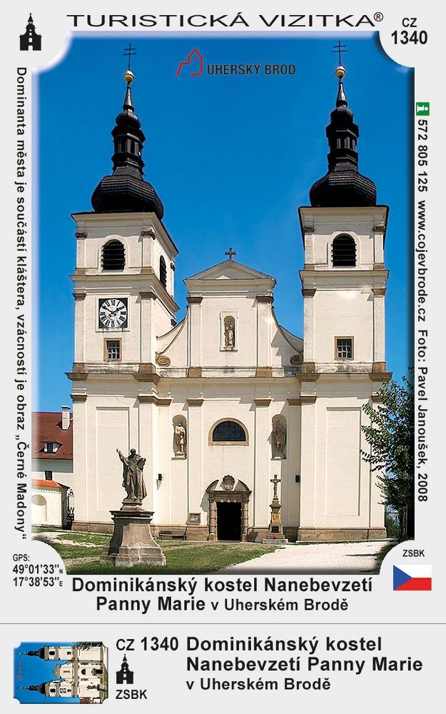 Dominikánský kostel N. P. Marie v U. Brodě