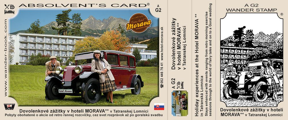 Dovolenkové zážitky v hoteli Morava** v Tatranskej Lomnici