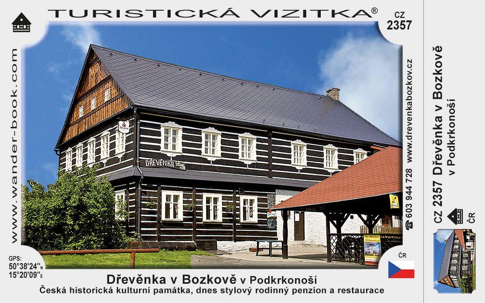 Dřevěnka v Bozkově v Podkrkonoší