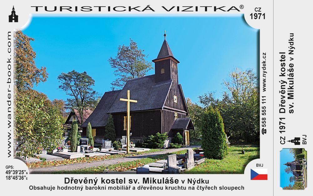 Dřevěný kostel sv. Mikuláše v Nýdku