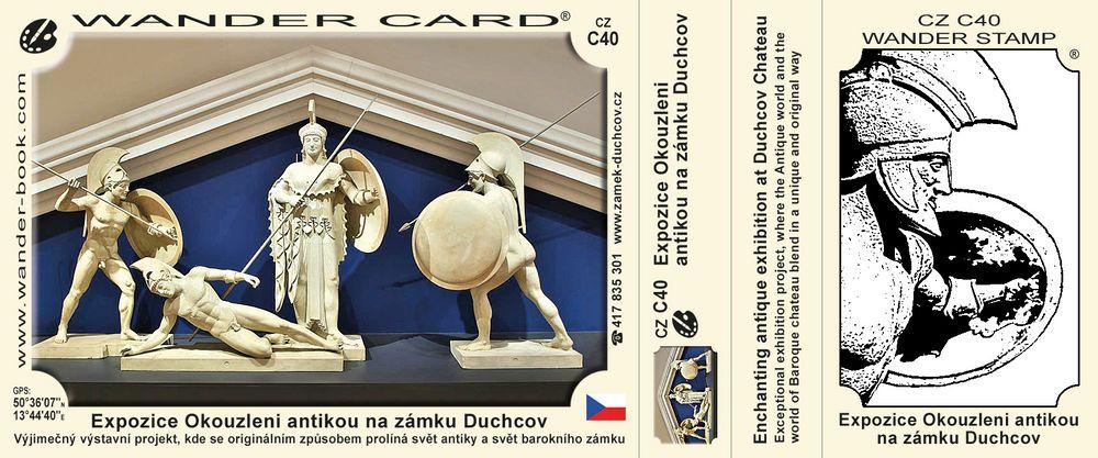 Expozice Okouzleni antikou na zámku Duchcov