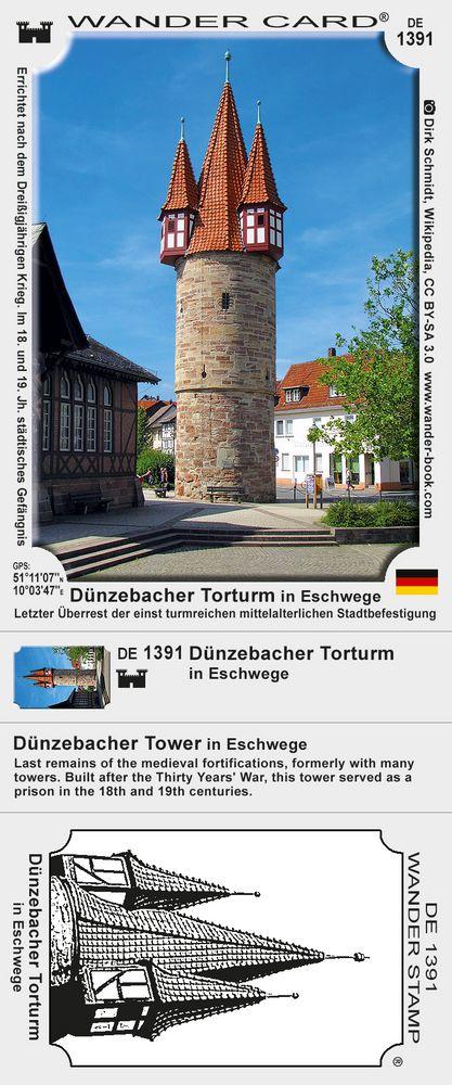 Dünzebacher Torturm in Eschwege