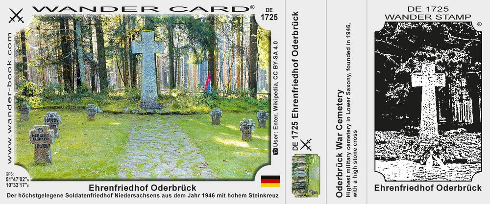 Ehrenfriedhof Oderbrück