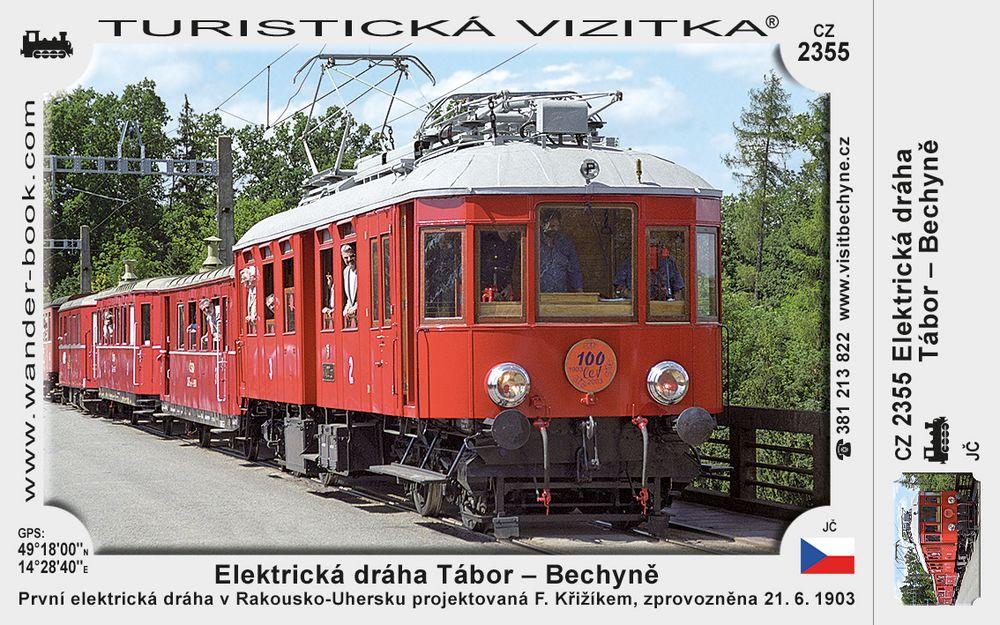 Elektrická dráha Tábor - Bechyně