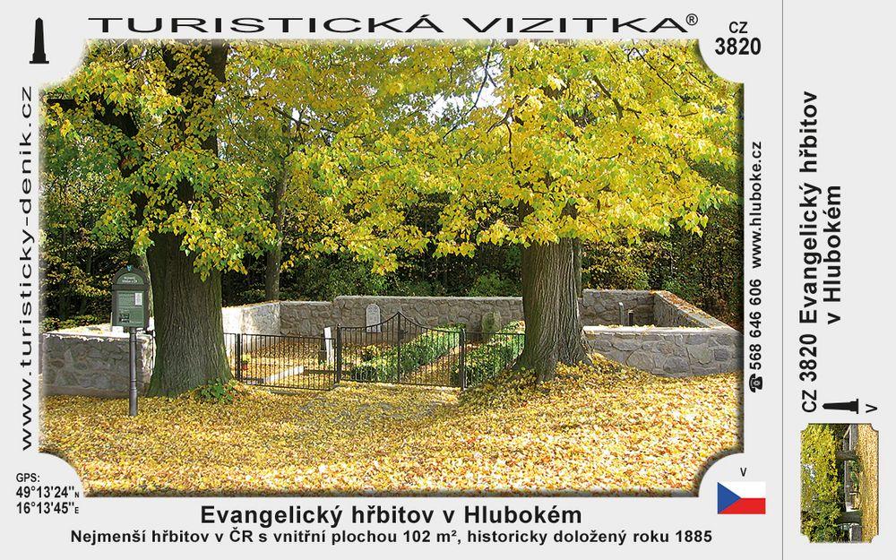 Evangelický hřbitov v Hlubokém