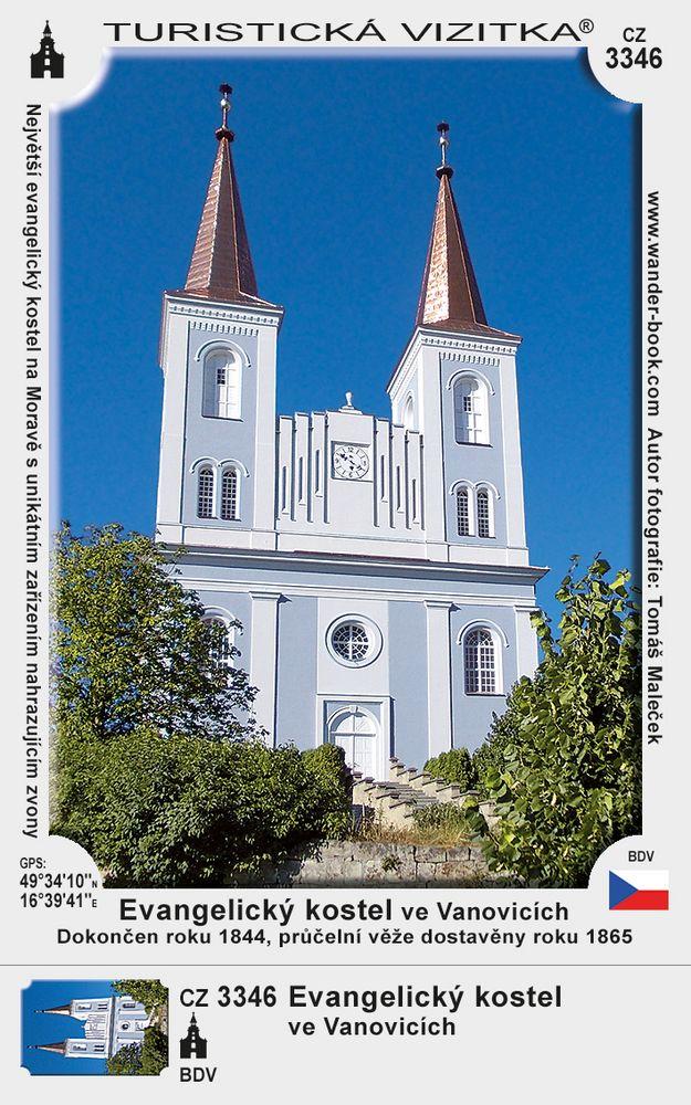 Evangelický kostel ve Vanovicích