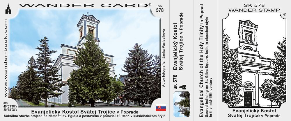 Evanjelický Kostol Svätej Trojice v Poprade