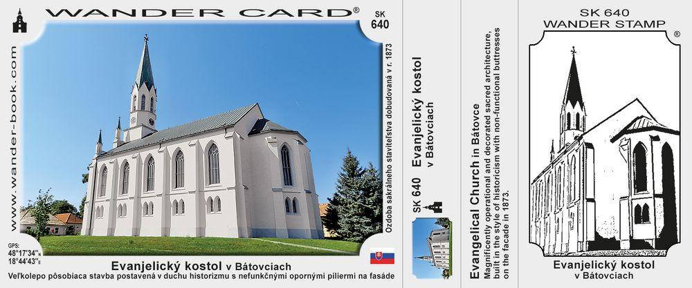 Evanjelický kostol v Bátovciach