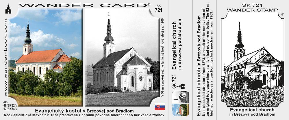 Evanjelický kostol v Brezovej pod Bradlom