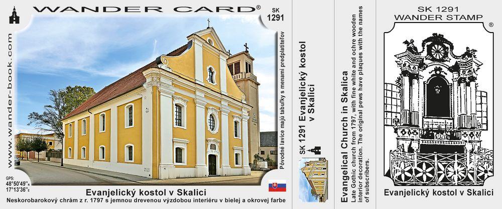 Evanjelický kostol v Skalici