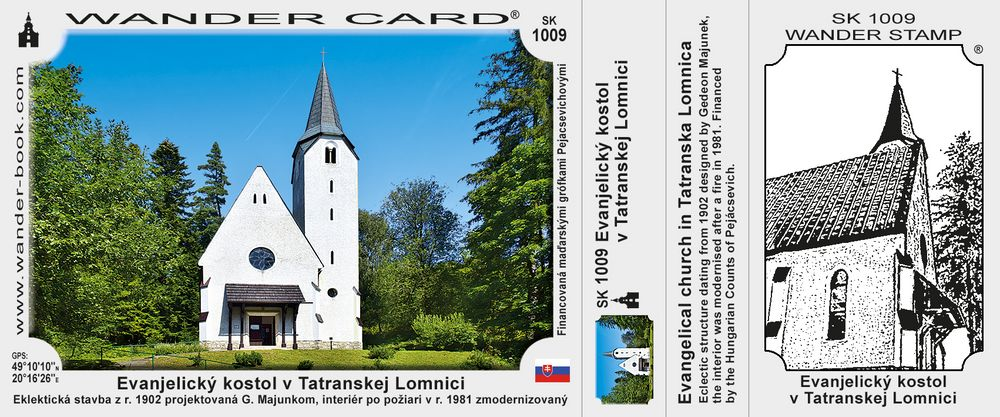 Evanjelický kostol v Tatranskej Lomnici