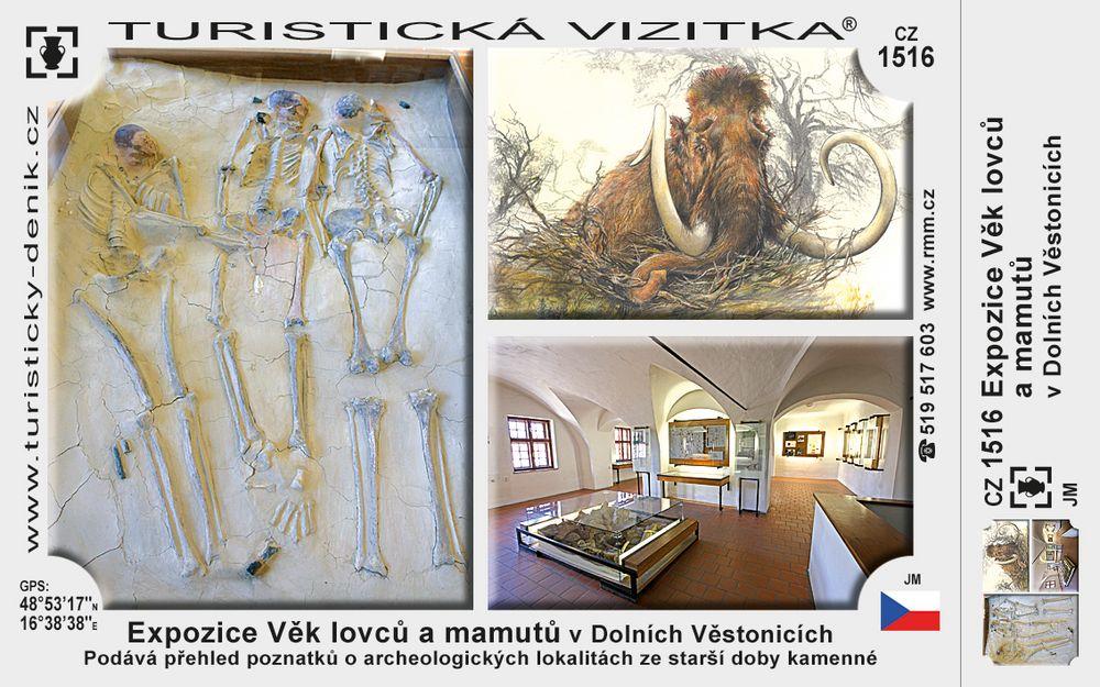 Exp. Věk lovců a mamutů v D. Věstonicích