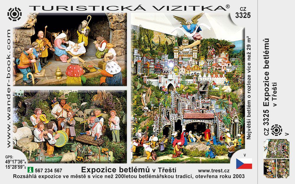 Expozice betlémů v Třešti