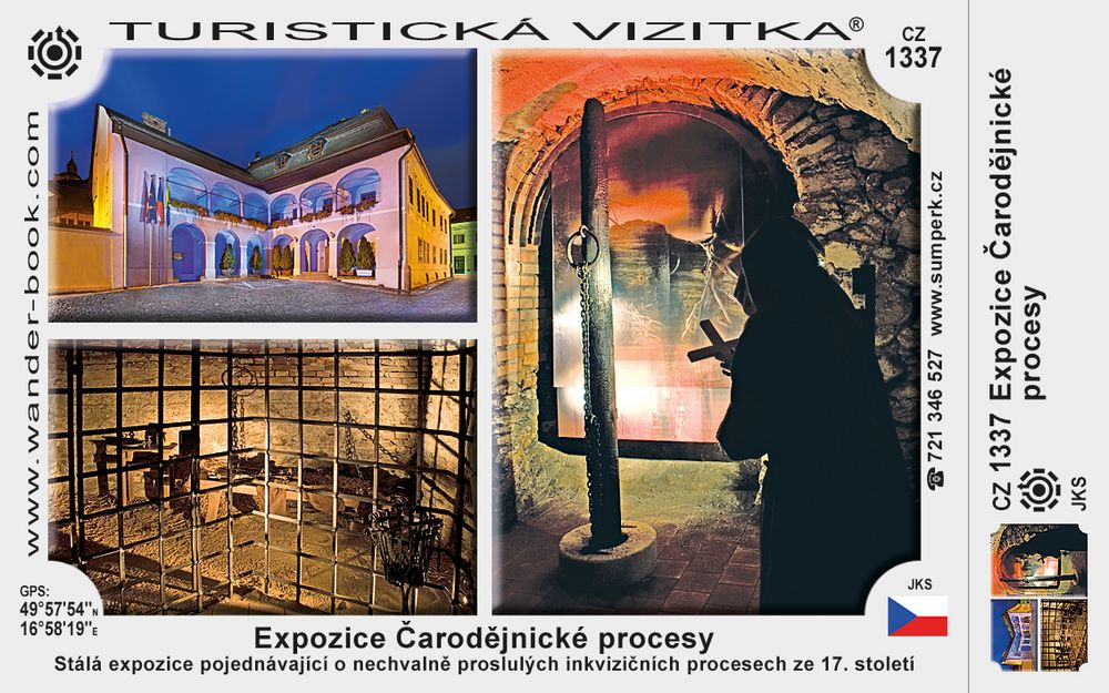Expozice Čarodějnické procesy