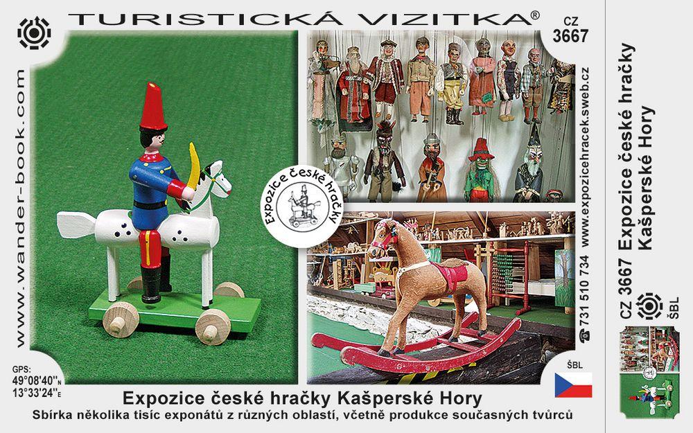 Expozice české hračky Kašperské Hory