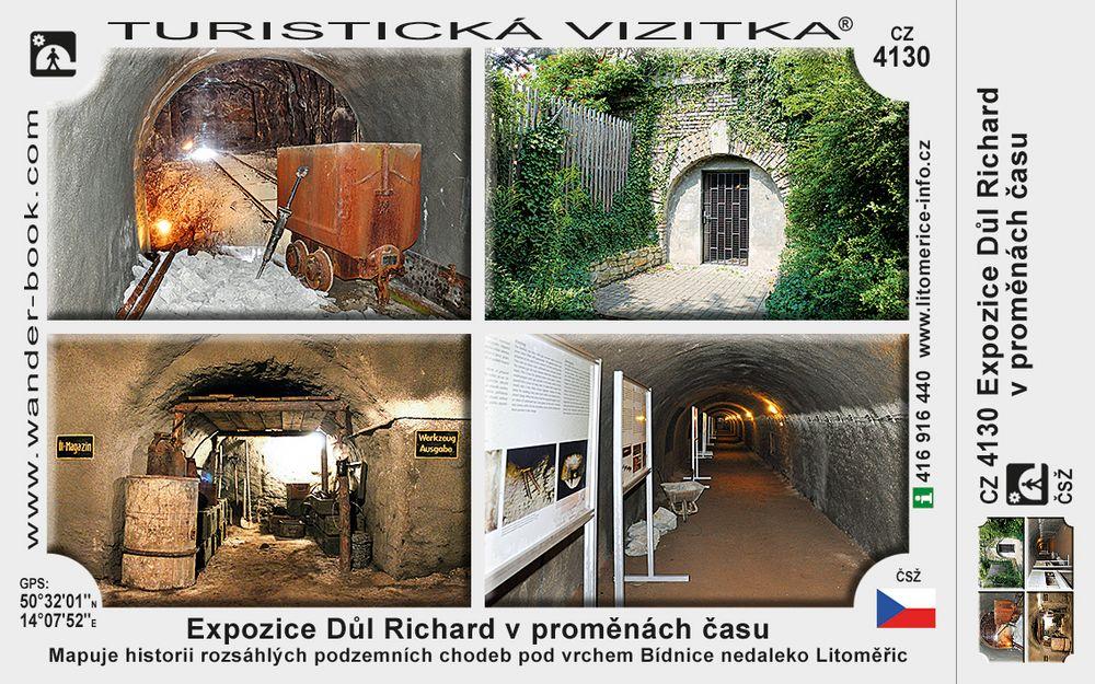 Expozice Důl Richard v proměnách času