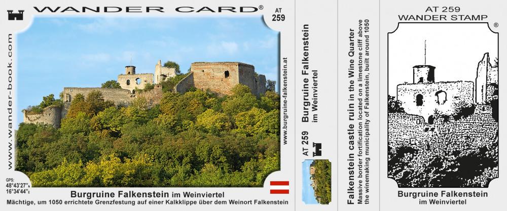 Falkenstein Burgruine Poysdorf