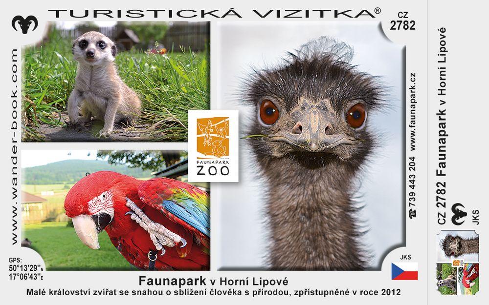 Faunapark v Horní Lipové