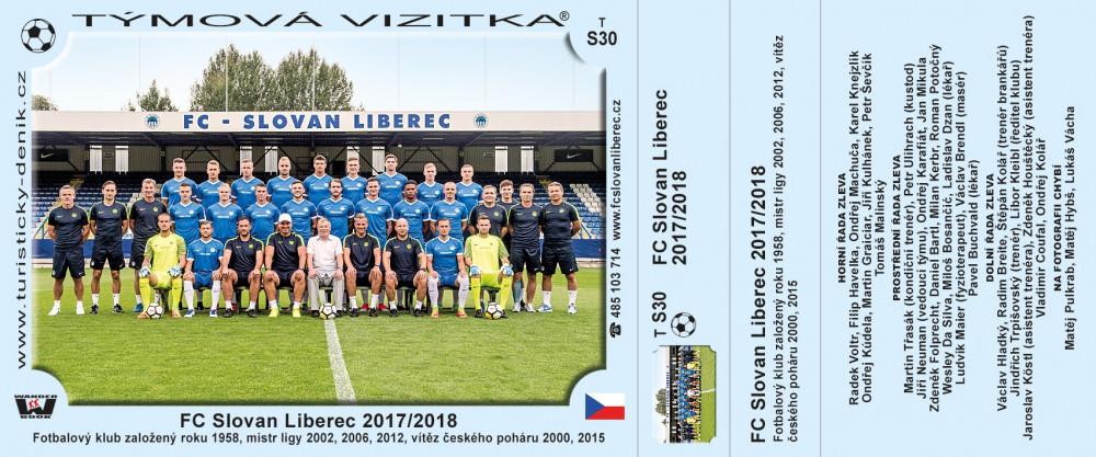 FC Slovan Liberec 2017/2018