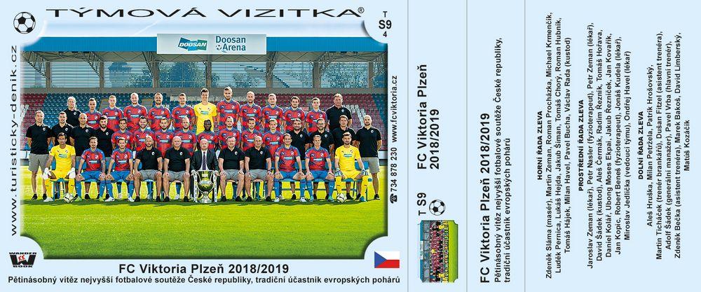 FC Viktoria Plzeň 2018/2019