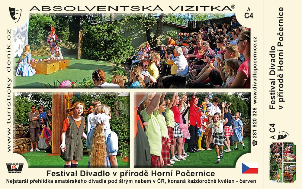 Festival Divadlo v přírodě Horní Počernice