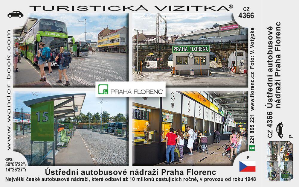 Ústřední autobusové nádraží Praha Florenc