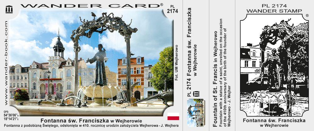 Fontanna św. Franciszka w Wejherowie