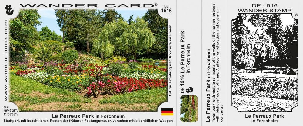 Le Perreux Park in Forchheim