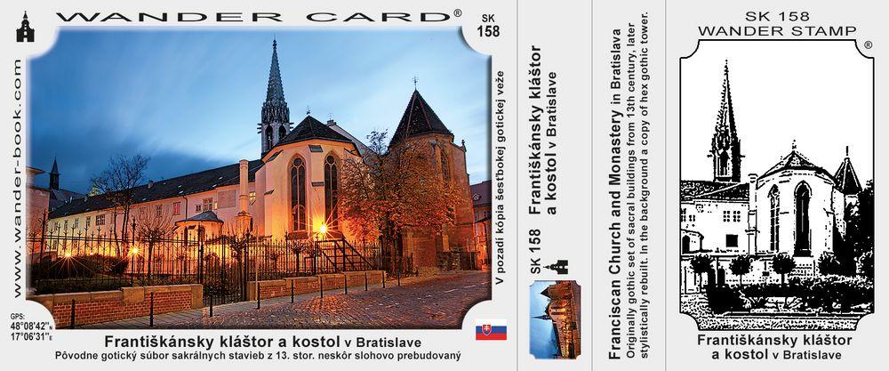 Františkánsky kostol a kláštor v Bratislave