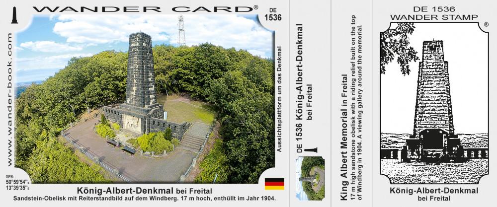 König-Albert-Denkmal bei Freital